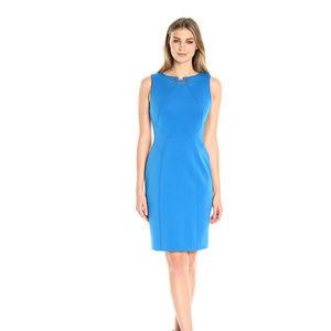 Ivanka Trump Sky Blue Sheath Dress
